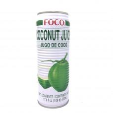 Foco Coconut Juice 17.6oz