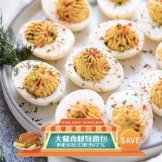 Tuscan Eggs-Ingredients Set-Ingredients Package (Holiday Season)