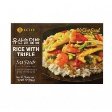 lotte instant seafood rice 300g