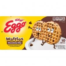 Kellogg's Waffles Eggo Chocolate Chip 349G