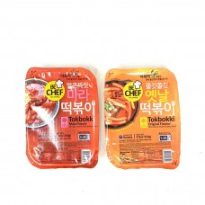 BC Instant Spicy Stir-fried Rice Cake (Two flavors are optional) 250g