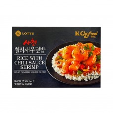 lotte instant spicy shrimp rice 300g