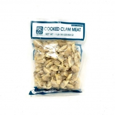 2 Frozen Cooked Clam Meat