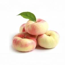 25-27 White Flat Peaches