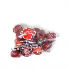 1 Bag of Red Apples (about 10-12pc)