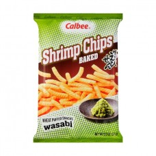 calbee shrimp chips wasabi 94g