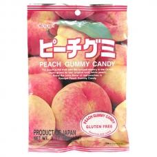 Kasugai Peach Gummy Candy Cherry Blossom 107G