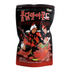 Korean Tom's Farm Almond Hot&Spicy Chicken 210g