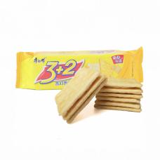 3+2 Sandwich Cracker Cream Flavor 1 Packet 4.4oz.