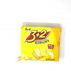 3+2 Buscuits cream flavor 3pks