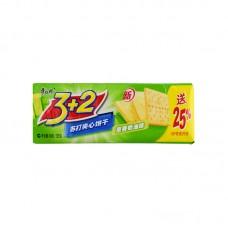 3+2 Sandwich Cracker Onion Flavor 1 Packet 4.41oz.