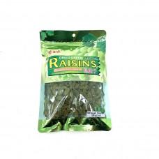 dried green raisins