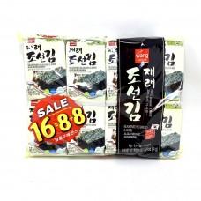 Roasted Seaweed Snack 16pk 2.24oz. Korean