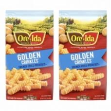 Ore-Ida Golden Crinkles Fries 907G for 2