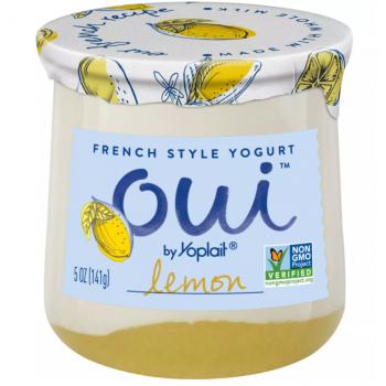 Oui French Style Yogurt Lemon Flavor 5oz