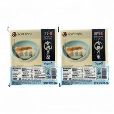 2 DH Superior Natural Organic  Soft Tofu 17oz