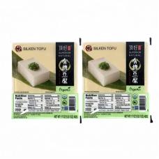 2 DH Superior Natural Organic  Silken Tofu 17oz
