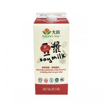 Nature's Soy Sweet Soy Milk 1.89L