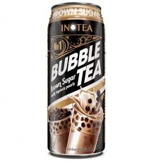 Inotea Bubble Tea Drinks Brown Sugar with Tapioca Pearls 490ml