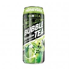 Inotea Bubble Tea Drinks Honeydew with Tapioca Pearls 490ml
