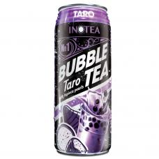 Inotea Bubble Tea Drinks Taro with Tapioca Pearls 490ml