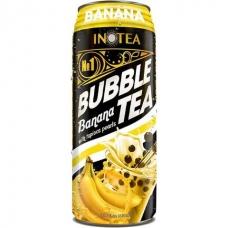 Inotea Bubble Tea Drinks Banana with Tapioca Pearls 490ml