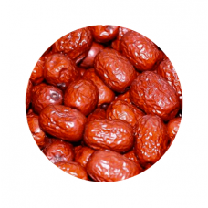 Bulk Small Red Dates (about 1 pound)