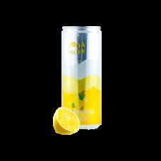 BBY Sparkling Water Lemon Flavor 6pk- 330ml/ea