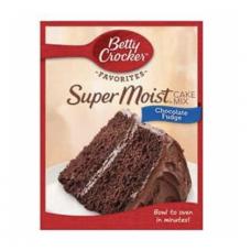 Betty Crockers Super Moist Cake Chocolate Fudge 432G