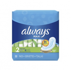 Always Daily Without Wings 22 Pads