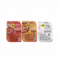 BC Instant Spicy Stir-fried Rice Cake (Three flavors are optional) 250g