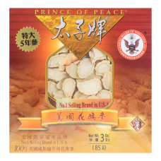 Prince of Peace Sliced Wisconsin Ginseng 85g