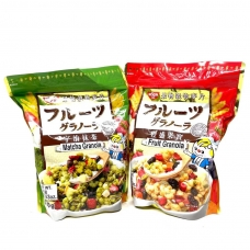 Japanese healthy meal replacement cereal (matcha/strawberry flavor optional)