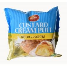 Orange Custard Cream Puff 2.75oz