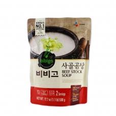 Bibigo Beef Stock Soup 17.7oz