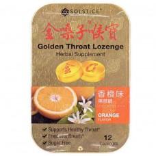 Golden Throat Lozenge Orange Flavor 12Lozenges
