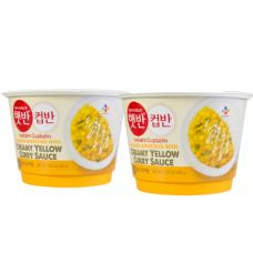 CJ Creamy Yellow Curry Rice 280g 2box