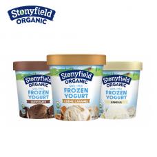 Stonyfield Organic Whole Milk Frozen Yogurt Pint 473ml