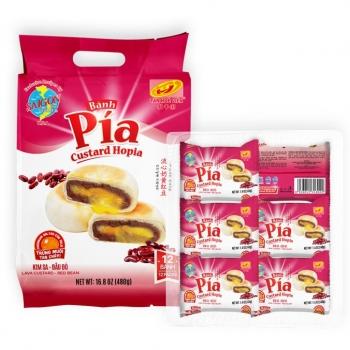 XHY Pia Durian Pie Custard Red Bean 16.8oz