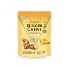 Pop Ginger Chews Lemon