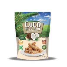 Coco Rice Roll Coconut Milk Flavor 3.53 oz Southeast Asia