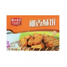 CHUNGUANG COUCONUT TOWN  Coconut Cookie 150g