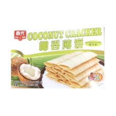 CHUNGUANG COUCONUT TOWN Coconut Cracker Coconut Flavor 150g