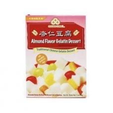 Golden Coins Traditional Chinese Almond Flavor Gelatin Dessert 7oz