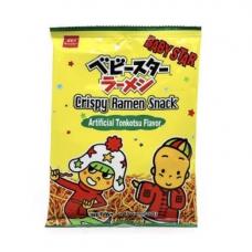Baby Star Crispy Ramen Snack Tonkatsu 2.47oz