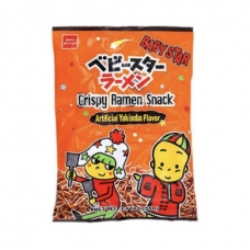 Baby Star Crispy Ramen Snack Yakisoba 2.47oz