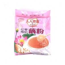 RRHX Lotus Root Powder Red Date Chinese Wolfberry 19oz Pink