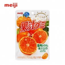 Meiji Gummy Candy Orange 1.79oz