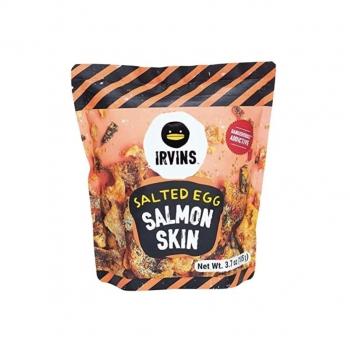 IRVINS Salted Egg Salmon Skin Chips 3.7oz