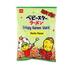Baby Star Crispy Ramen Snack Garlic 2.47oz